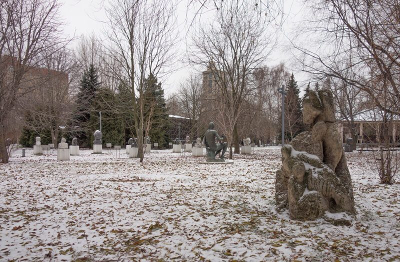 парк Музеон, скульптура