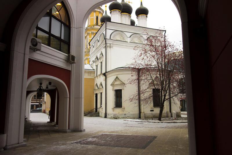 храм в третьяковской галерее