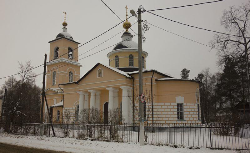Село Новоникольское, храм Вознесения Господня