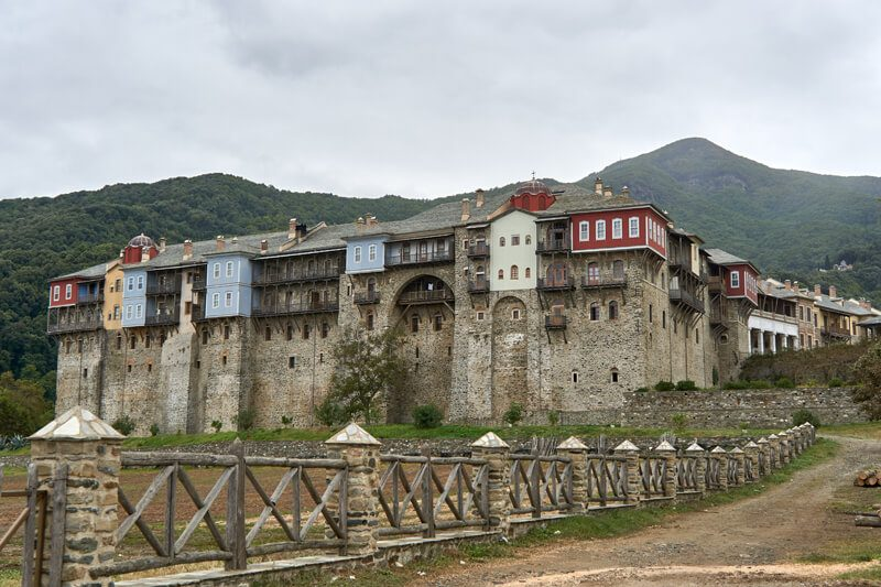 монастырь афона фото