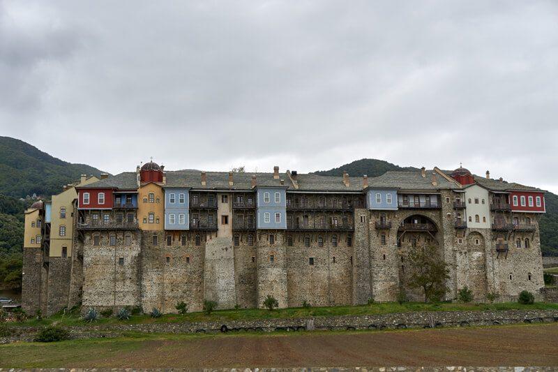 Монастырь Ивирон, фото