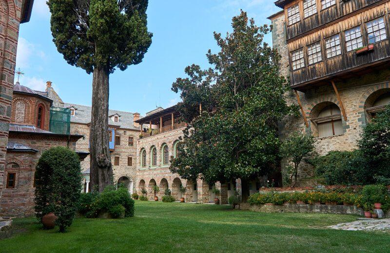монастырь филофей фото