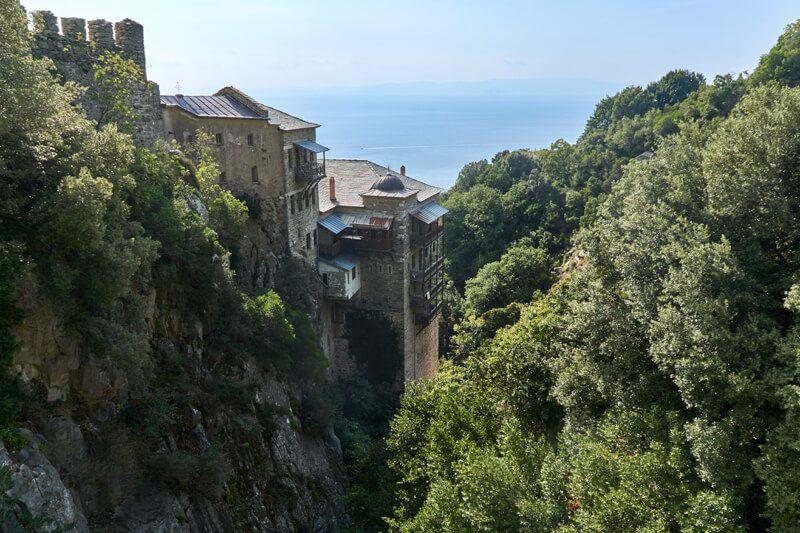 монастырь св. павла афон фото