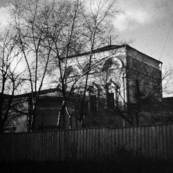 Храм в Толмачах ссср