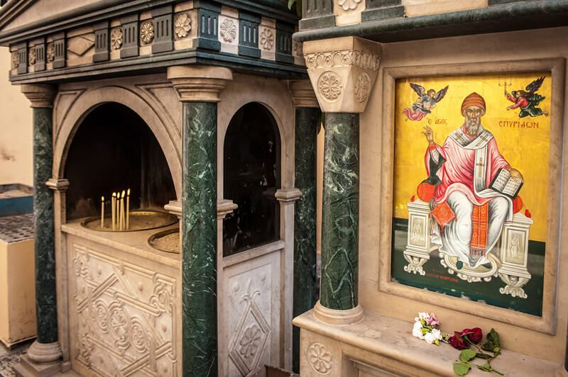 Корфу, икона святителя Спиридона Тримифунтского