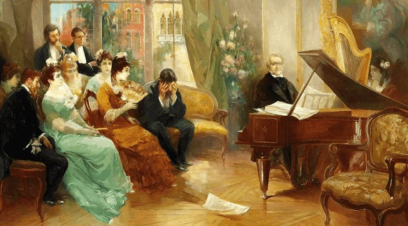 творческий вечер 19 век