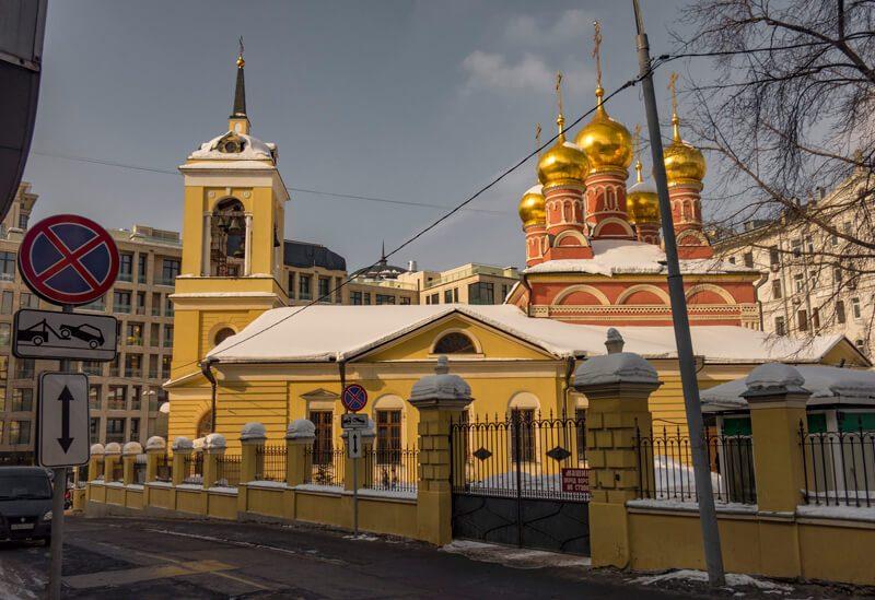 Церковь на Смоленской фото