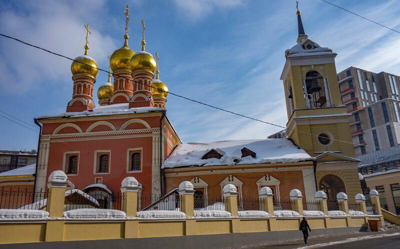 Храм святителя Николая на Щепах фото