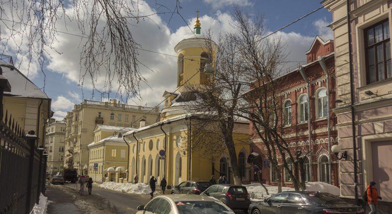 Церковь Феодора Стратилата в Архангельском переулке