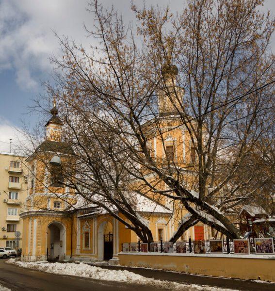 Храм в Хохловском переулке