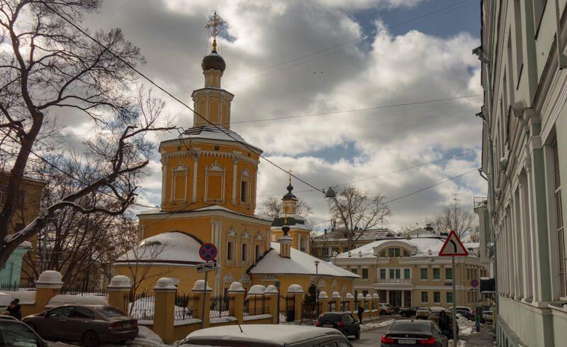 Церковь в Хохловском переулке