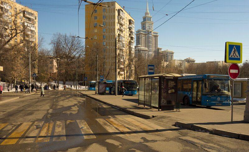 сокол автобусная остановка
