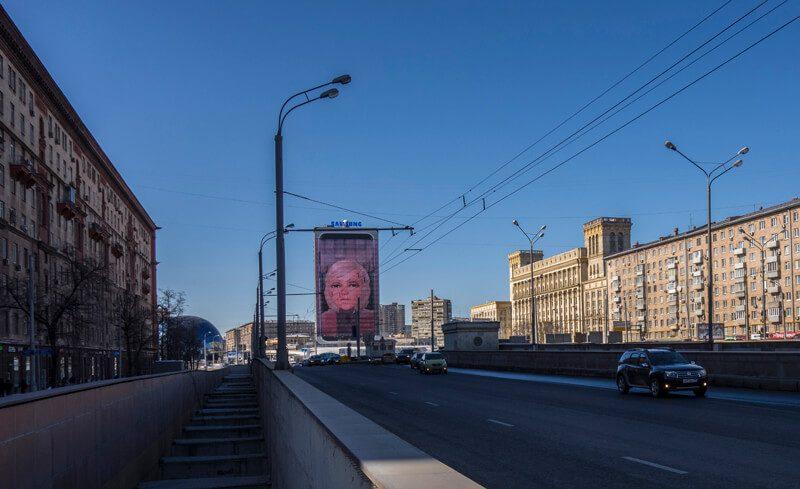 Ланинградский проспект, метро Сокол