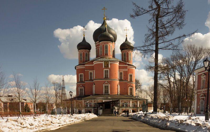 Донской собор Донской монастырь