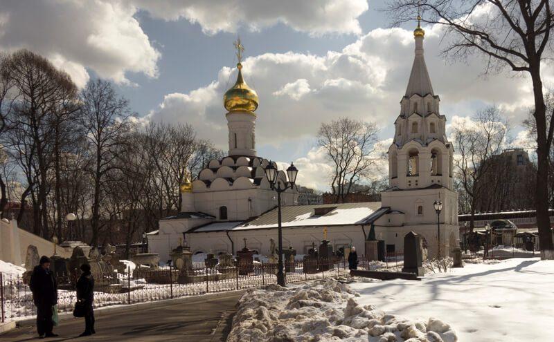 Старый собор Донского монастыря