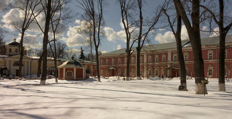 Донской монастырь фото