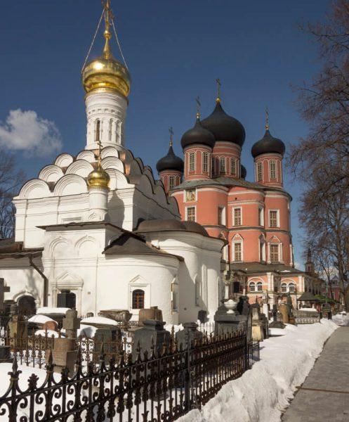 Донской монастырь, фото