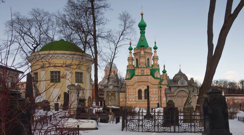 Донской монастырь, Некрополь