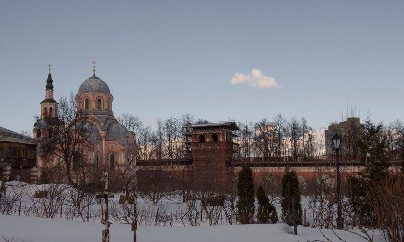 Донской монастырь церковь Иоанна Златоуста фото