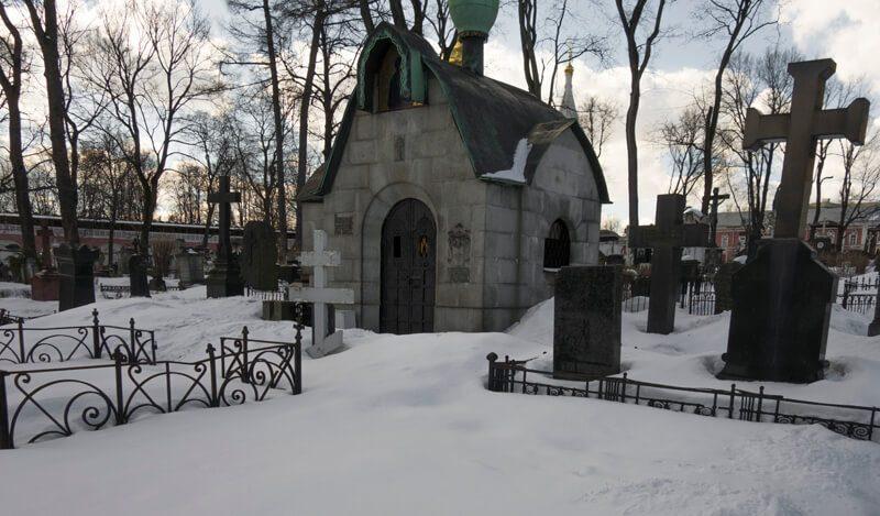Донской монастырь часовня Левченко