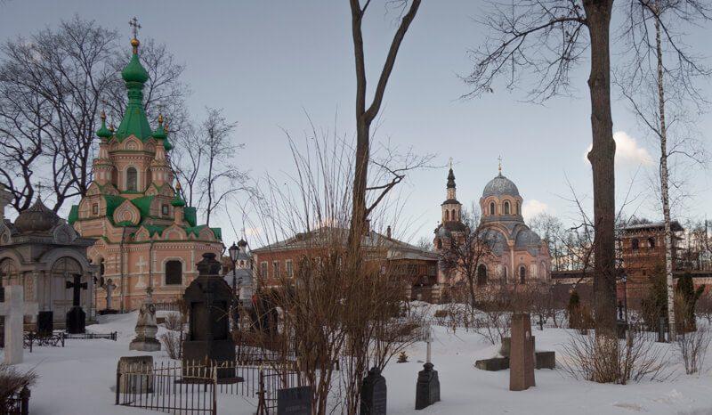 Донской монастырь некрополь