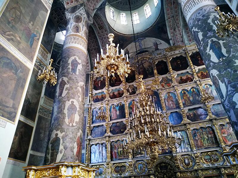 Собор Донского монастыря иконостас