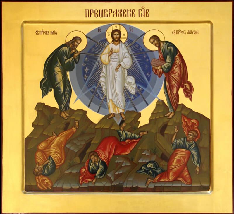 Преображение Господне икона