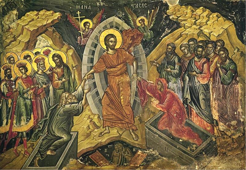 Воскресение Христово Пасха икона