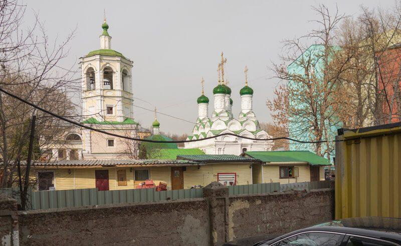 храм успения в успенском переулке