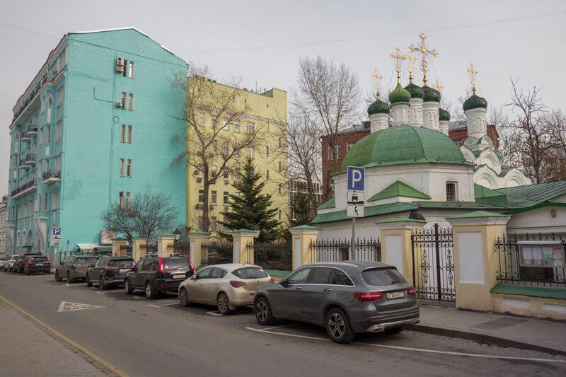 церковь в успенском переулке