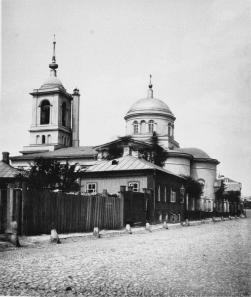 храм на сивцевом вражке до революции