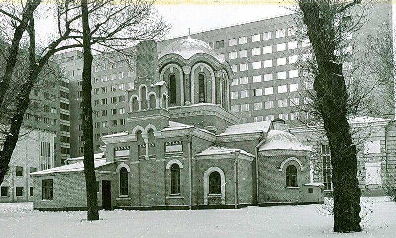 Храм Димитрия Прилуцкого: 70-80-е годы