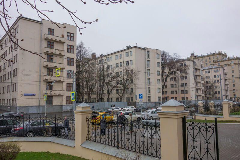 Хамовники Большая Пироговская улица