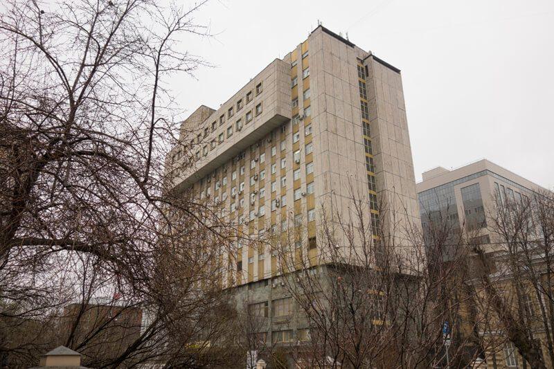 здание Российского научного центра хирургии имени академика Петровского