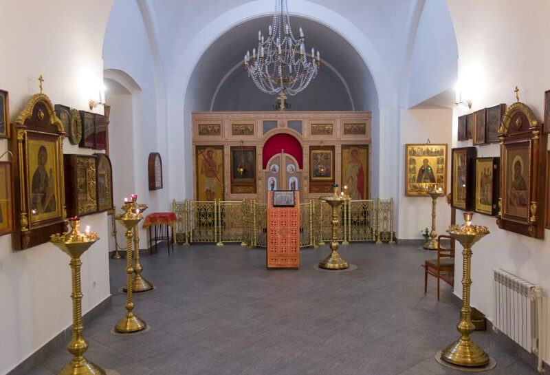 церковь Димитрия Прилуцкого внутри