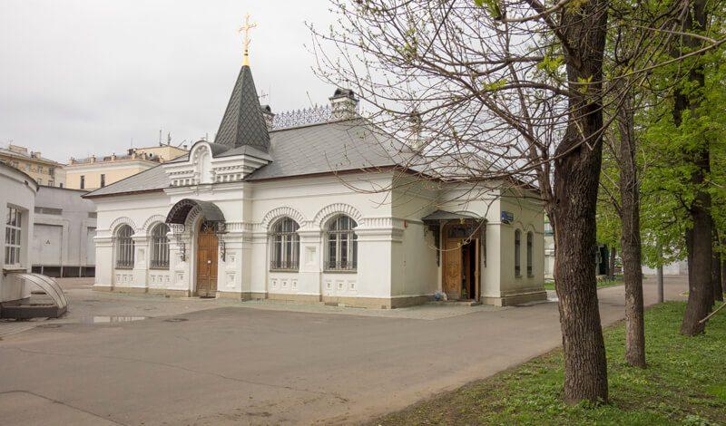вознесенкая церковь при нии склифосовского