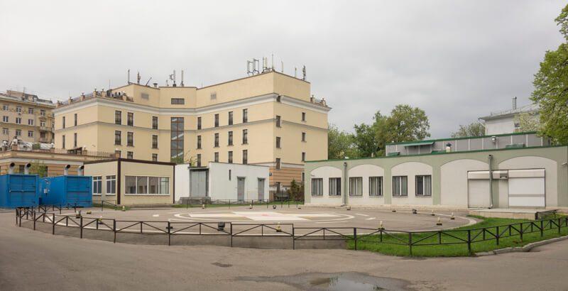 вертолетная площадка нии склифосовского