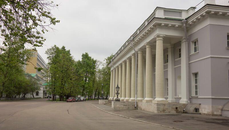 троицкий храм при нии склифосовского