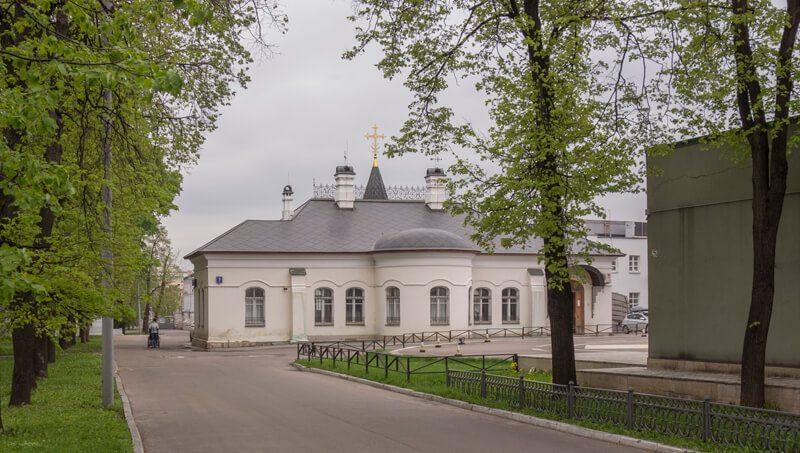 вознесенская церковь при больнице склифосовского