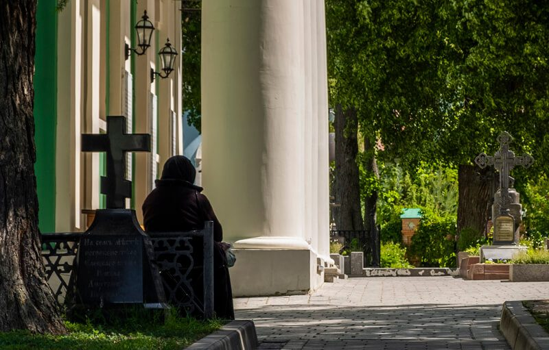 Оптинский монастырь монахиня