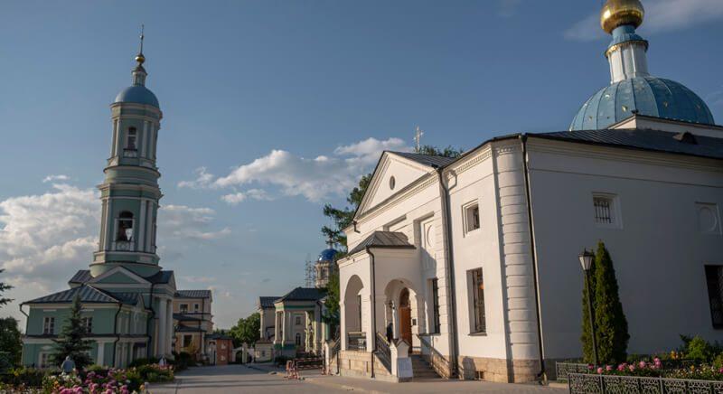 Оптина пустынь Казанский храм