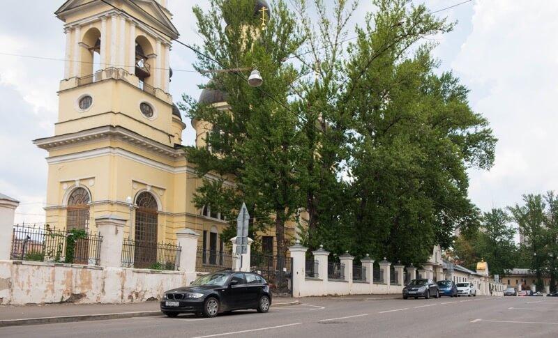 храм на самокатной улице