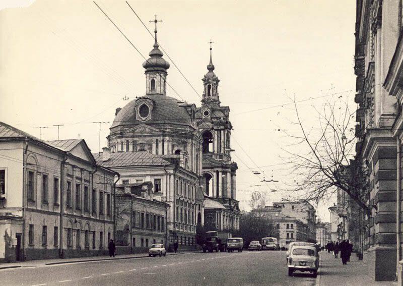 храм на старой басманной в советское время