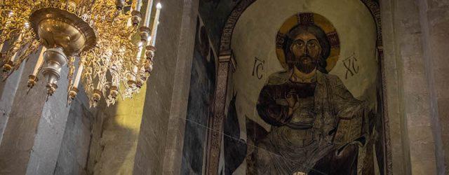иисус христос грузинская икона