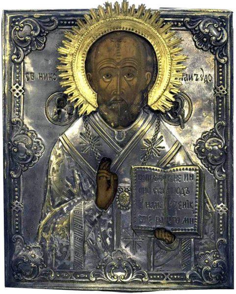 Святой Николай Угодник, икона