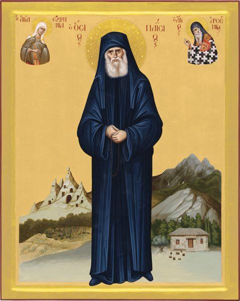 икона старца паисия святогорца