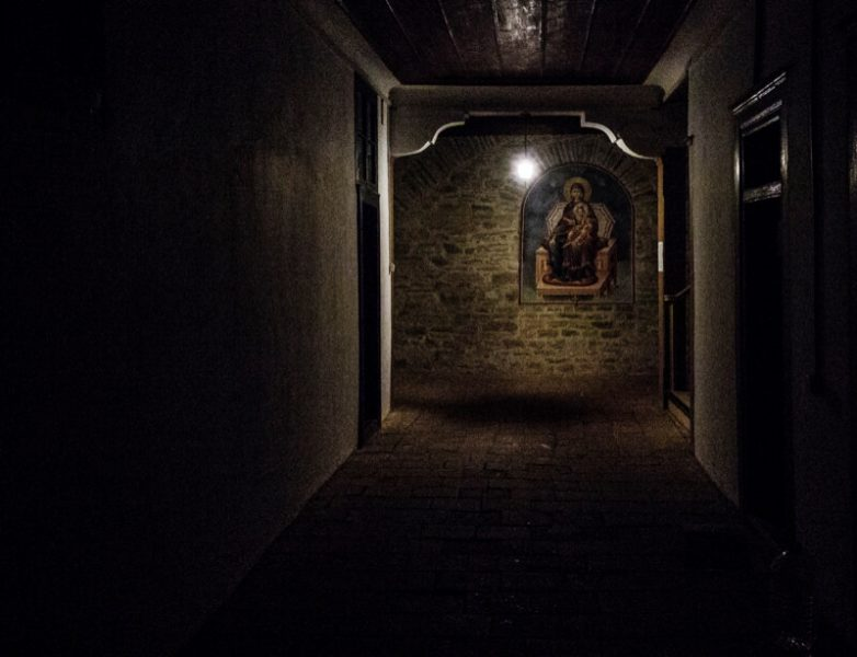 афон монастырская гостиница