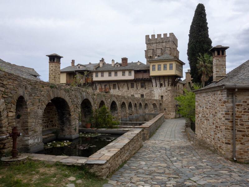 афон ставроникита монастырь фото 2019