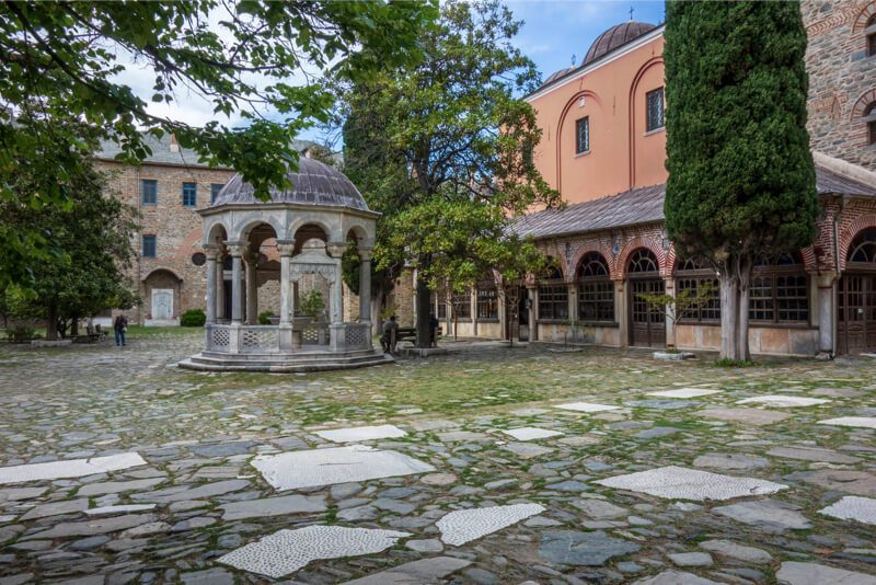 афон иверский монастырь