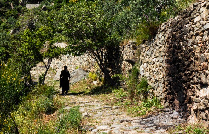 афон монах фото